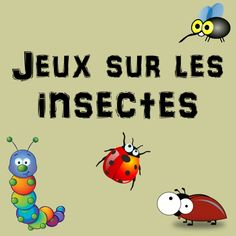 Jeux sur les insectes - Parent Resources, Tips, and Advice Education Day, Education Degree, Animal Tracks, Science And Nature, Fun Games, Some Fun, Kids And Parenting, Diy For Kids, Kids Playing