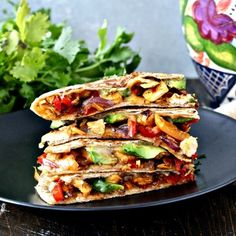 The Ultimate Chicken Quesadillas. The Ultimate Chicken Quesadillas Recipes Chicken, colorful veggies, and plenty ofooey, gooey cheese come together in this quick and easy dinner that . Diced Chicken, Rotisserie Chicken, Blueberry Yogurt Popsicles, Whole Wheat Tortillas, Quesadilla Recipes, Chicken Quesadillas, Easy Dinner Recipes, Chicken Recipes, Good Food