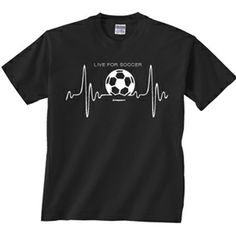 If your heart is all in the game then this shirt is for you! Come check out our new Spring line for soccer.