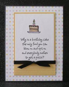 MorningStar birthday sentiment with cake slice