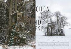 """Michael Gollong – MUH No. 4-2011 """"Zwischen Wald und Wiese"""", Fotos: Philipp Koch."""
