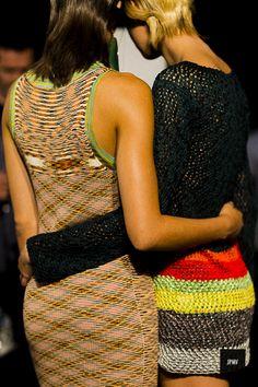 J'ai Perdu Ma Veste / Missoni Backstage Spring Summer 2017  // #Fashion, #FashionBlog, #FashionBlogger, #Ootd, #OutfitOfTheDay, #StreetStyle, #Style