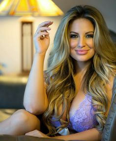 Ashley Alexiss ~ Beautiful! Hair goals!