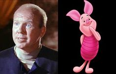 """Born February 3, 1925 Character Actor John Fiedler:    Fiedler appeared in over 185 film, TV and voice roles — most notably in 12 Angry Men (Feature Film Debut as Juror #2), The Odd Couple (as Vinnie), True Grit 1969 (as Lawyer Daggett) – & the adorable Piglet in Disney's Winnie-the-Pooh!    """"There are elements of Piglet that are me: the shyness and the anxieties and fears. Even after all these years. The more you know, the higher your standards are and the more you have to lose."""" – John…"""