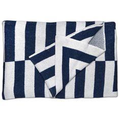 Aquino Throw Blanket - Indigo