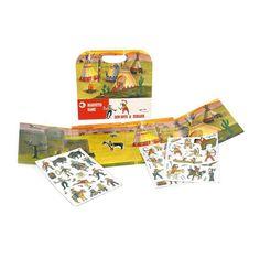 EGMONT Магнитная игра Индейцы, с 3 лет
