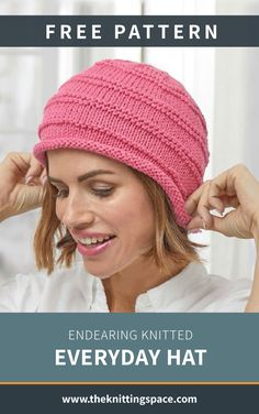 Craft this simple and versatile knitted hat perfect for everyday wear Discover over 3 000 free knitting patterns at knitpatternsfree handmadegifts giftideas DIY fallknittingpatterns fallknittingprojects Fall Knitting Patterns, Easy Knitting Projects, Free Knitting, Loom Knitting, Knitting Tutorials, Knitting Machine, Hat Patterns, Vintage Knitting, Knitting Ideas
