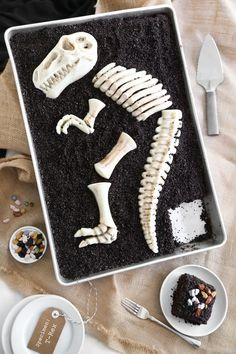 Dino Dig Chocolate Cake