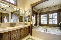 Breckenridge Residence contemporary bathroom