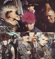 King's Road Punks '1982. Friend goals.