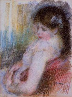 Seated Woman - Pierre-Auguste Renoir