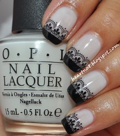 heartNAT: 31 Day Nail Challenge--Day 15: Delicate Print. Stamping