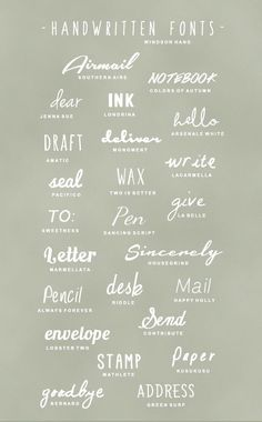 Tipografías gratis - fuentes escritura manual gratuitas Fonts and graphics Gratis Fonts, Typography Letters, Typography Poster, Vintage Typography, Typography Layout, Typography Quotes, Handwritten Typography, Cursive Fonts, Penmanship