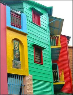 Caminito, Argentina -- souvenir area
