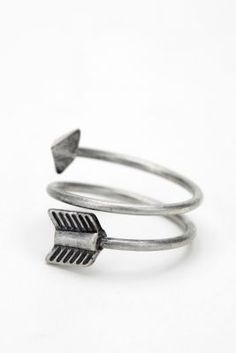 silver arrow ring