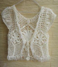 Hey, I found this really awesome Etsy listing at https://www.etsy.com/listing/157408737/boho-hippie-crochet-lace-bolero-fringe
