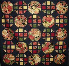 ... By Designer :: Leesa Chandler Designs :: Oriental windows quilt kit