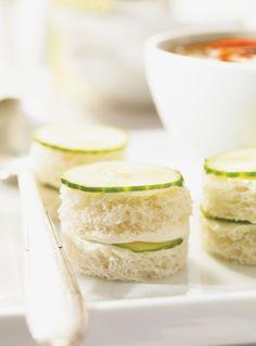 Cucumber Tea Sandwiches (recipe)