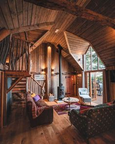 Cabin Homes, Log Homes, Cabin In The Woods, Cabin Interiors, Cozy Cabin, Dream Rooms, My Dream Home, Dream Life, Cottage