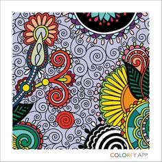 Colorfy coloring book