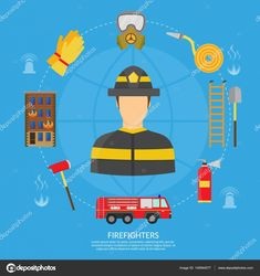 Find Vector Flat Illustration Firefighting Character Infographic stock images in HD and millions of other royalty-free stock photos, illustrations and vectors in the Shutterstock collection. Thousands of new, high-quality pictures added every day.