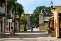 St. George's Street, St. Augustine. Not only have I been here, I've canvassed here!