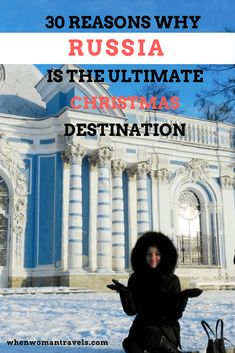 Well, I can give you a lot of reasons why Russia is the ultimate Christmas destination but I can also convince you with one word: UNBELIEVABLE!