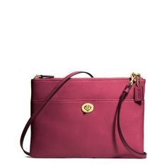 The Legacy Turnlock Crossbody In Leather from Coach