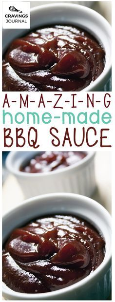 So much better than the supermarket version! Amazing home-made bbq sauce!