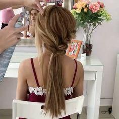 """Polubienia: 612, komentarze: 3 – Metdaan Creative (@metdaancreative) na Instagramie: """"Hairstyle 👌🏼 By: @milabeautykim"""""""