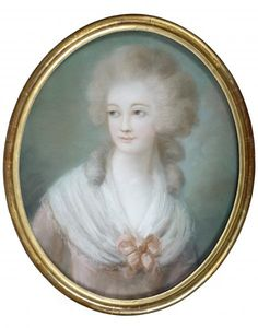 Portrait of a lady, late 18th century, French school