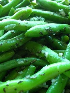 Italian Green Beans ~ finally a recipe just how my mom made our green beans ... oh I can taste them now..
