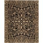 Chelsea Black 8 ft. 9 in. x 11 ft. 9 in. Area Rug