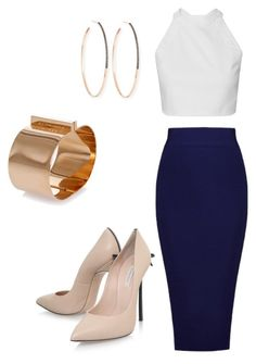 """""""Look by Aja"""" by jessiaja on Polyvore featuring Casadei, Dsquared2 and Lana"""