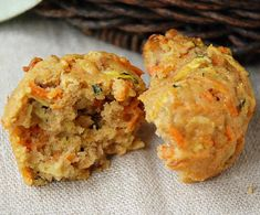 Marcus Samuelsson carrot zucchini muffin. Delicious and a good amount of vegetables. My kids and husband love them.