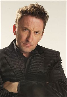 Lee Mack- all round comedian and light entertainment performer. Also mighty fine in a suit :)