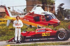 Gilles Villeneuve - Ferrari1982