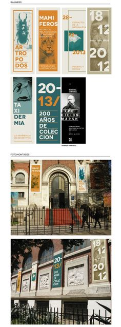 MACN/ Identidad by Stefania Luquez, via Behance