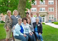 A group of friends who met freshmen year at Morrison Hall on 3rd North in 1964 reunited on campus to celebrate their 50 years of friendship. They also met freshmen currently living on Morrison Hall 3rd North and met with two alumna from the 1980s who met their freshman year. http://www.anderson.edu