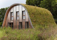8 projetos de arquitetura com telhados verdes