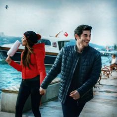 Let us go then, you and I, When the evening is spread out against the sky. Cute Love Couple, Best Couple, Beautiful Couple, Cute Couples Goals, Couple Goals, Murat And Hayat Pics, Cute Love Stories, Hande Ercel, Turkish Beauty