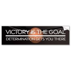 TOP Basketball Victory Slogan Bumper Sticker created by teepossible @zazzle_inc