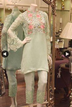 Threads and Motifs Pakistani Casual Wear, Pakistani Wedding Outfits, Pakistani Dresses, Indian Dresses, Indian Outfits, Nice Dresses, Casual Dresses, Eastern Dresses, Indian Designer Suits