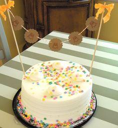 Woodland Owl Cake Topper/Cake Bunting