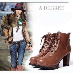 European Style Winter Purity Women's Shoes Boots Martin boots DSH-341602 - TinyDeal