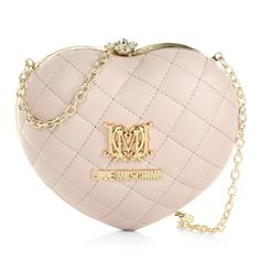 A handbag to fall in love with! This lovely LOVE MOSCHINO Bag fits perfectly to any wedding outfit and is the bag to have for romantic occassions. Fashionette.de