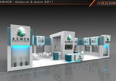 Asmer Exclusive Exhibition Stand Design @ Fair Stand | Arkhe Mimarlık  http://www.fairistanbulturkey.com/project.aspx?projeId=77