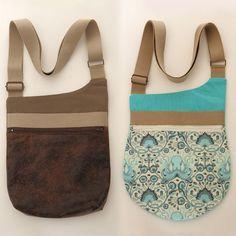 Patron sac bandoulière Be-Bop -- Be-Bop sling bag pattern: