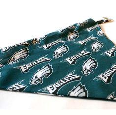 Philadelphia Eagles NFL Dog Bandana / Scarf Extra by artsydogs, $6.00