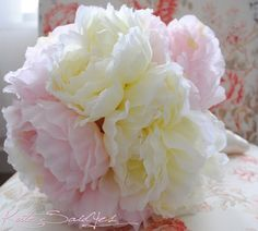 peony bouquet....what is it about peonies...I love them!